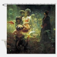 Ilya Repin Sadko Underwater Kingdom Shower Curtain