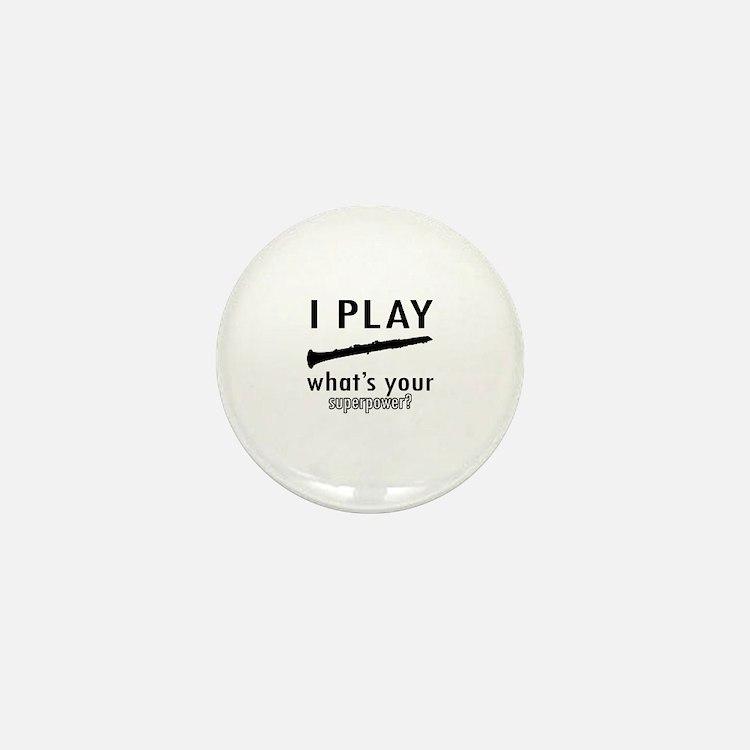 Cool Oboe Designs Mini Button