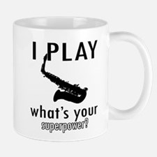 Cool Saxophone Designs Mug