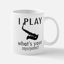 Cool Saxophone Designs Small Small Mug