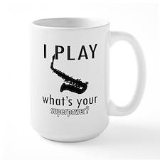 Cool Saxophone Designs Mug