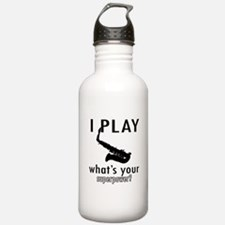 Cool Saxophone Designs Water Bottle