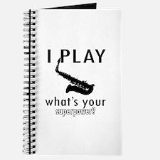 Cool Saxophone Designs Journal