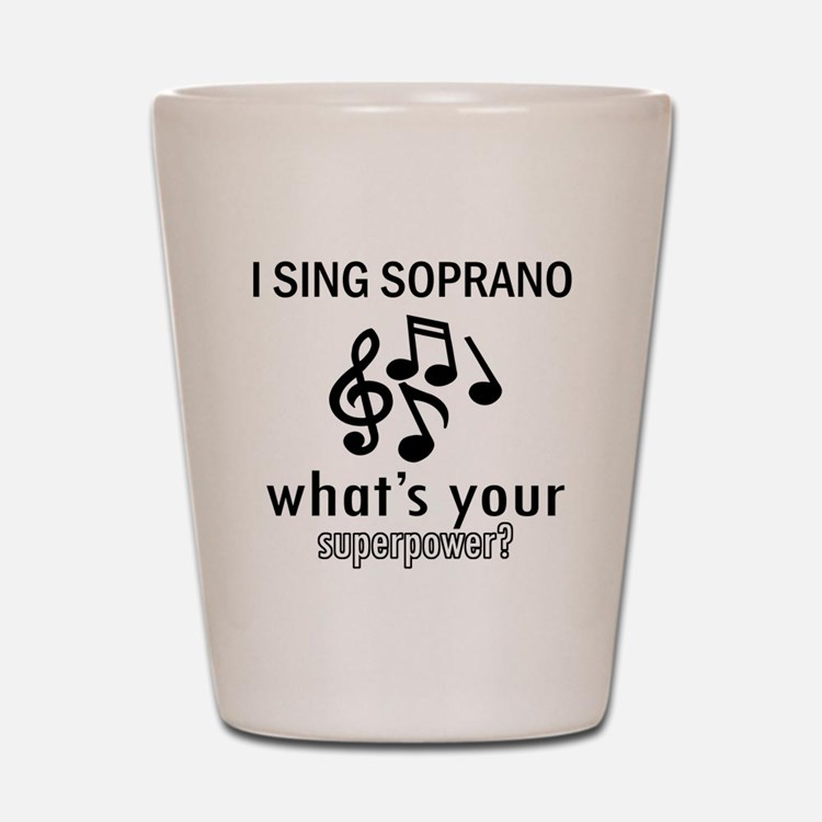 Cool Soprano Designs Shot Glass