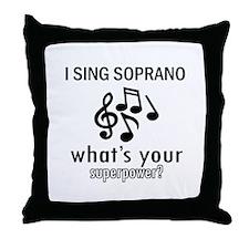 Cool Soprano Designs Throw Pillow