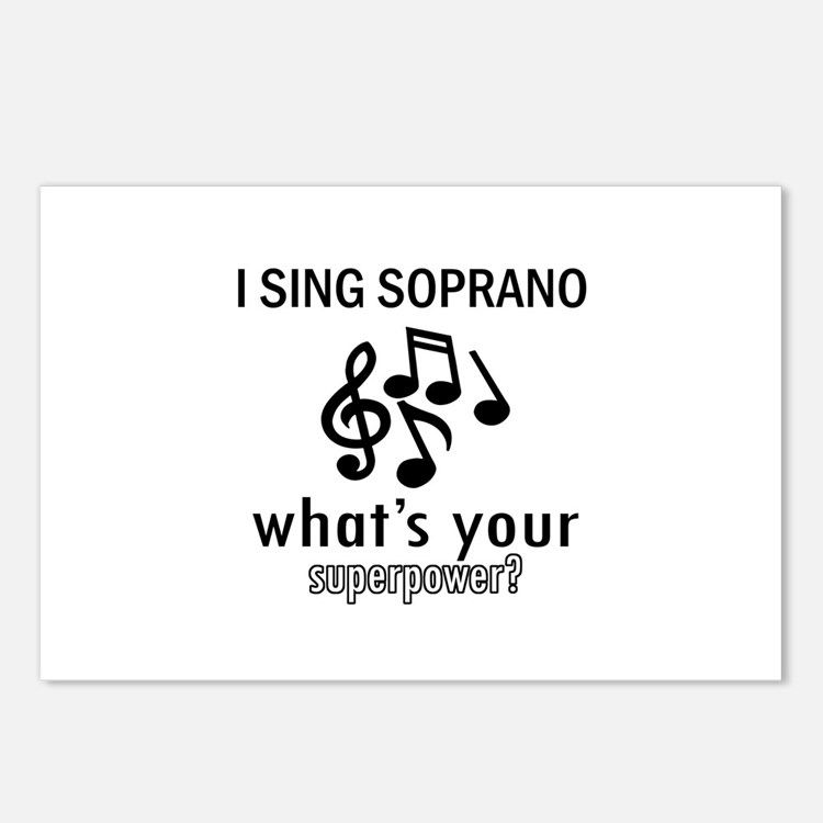 Cool Soprano Designs Postcards (Package of 8)