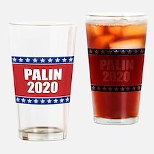 Sarah Palin 2020 Drinking Glass
