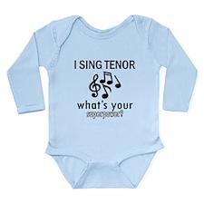 Cool Tenor Designs Long Sleeve Infant Bodysuit