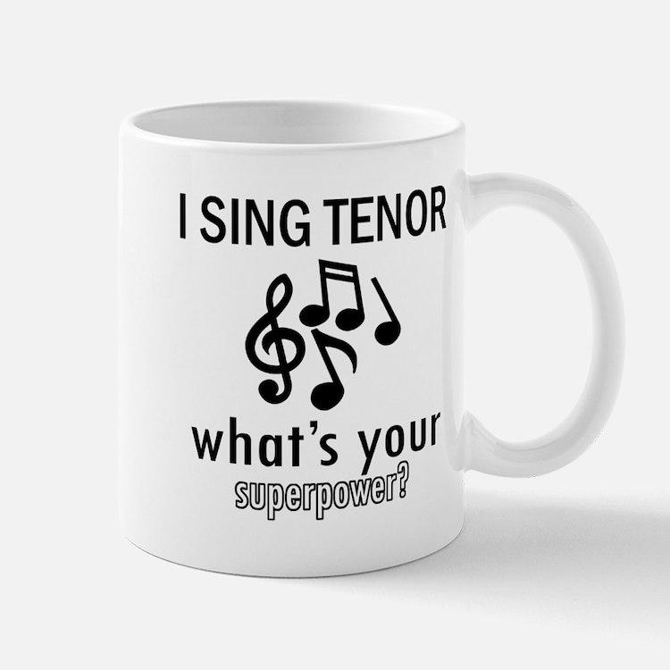 Cool Tenor Designs Mug