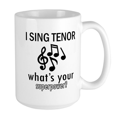 Cool Tenor Designs Mug By Gotteez