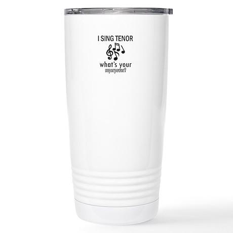 Cool Tenor Designs Stainless Steel Travel Mug