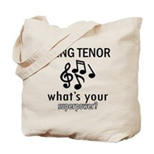Cool Tenor Designs Tote Bag