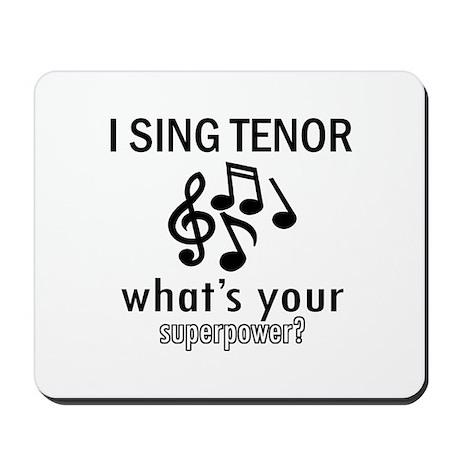 Cool Tenor Designs Mousepad