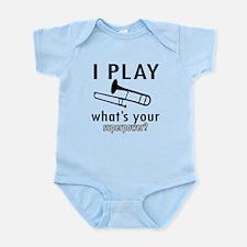 Cool Trombone Designs Infant Bodysuit