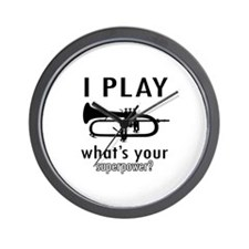 Cool Trumpet Designs Wall Clock