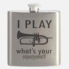 Cool Trumpet Designs Flask