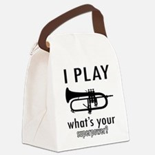 Cool Trumpet Designs Canvas Lunch Bag