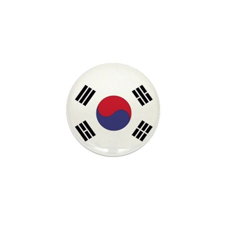 Korean Flag Mini Button