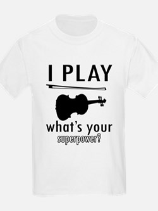 Cool Violin Designs T-Shirt