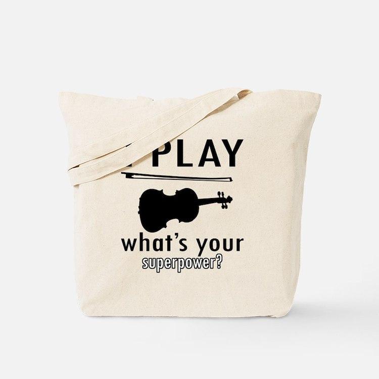 Cool Violin Designs Tote Bag