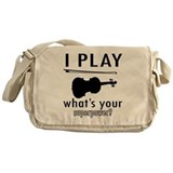 Violin Messenger Bag