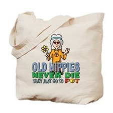 Hippies Tote Bag