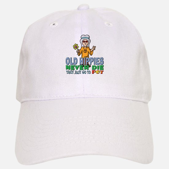 Hippies Baseball Baseball Cap
