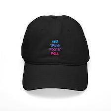Sex, Drugs, Rock N Roll Baseball Hat