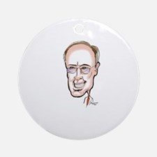 GoVeRnOr RoBeRt BeNtLeY Ornament (Round)