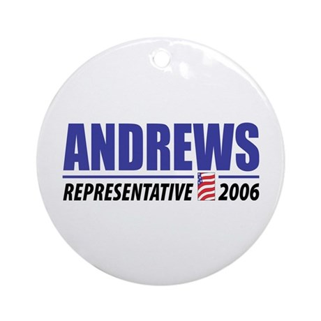 Andrews 2006 Ornament (Round)
