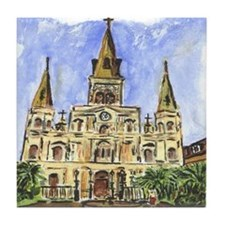 St. Louis Cathedral Tile Coaster