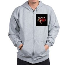 Slash apocalyptic love Zipped Hoody