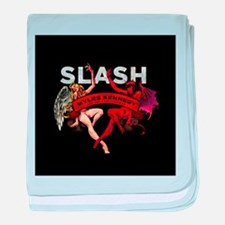 Slash apocalyptic love baby blanket