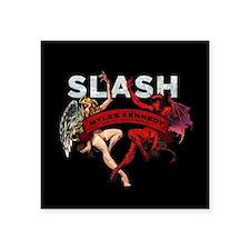 """Slash apocalyptic love Square Sticker 3"""" x 3"""""""