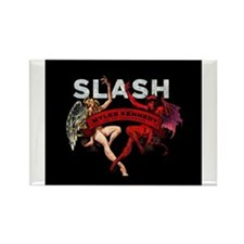 Slash apocalyptic love Rectangle Magnet