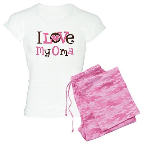 I Love My Oma Women's Light Pajamas