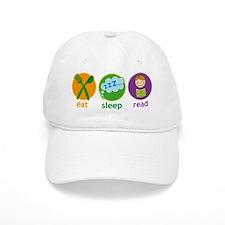 Eat Sleep Read Baseball Baseball Cap