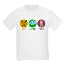Eat Sleep Read T-Shirt