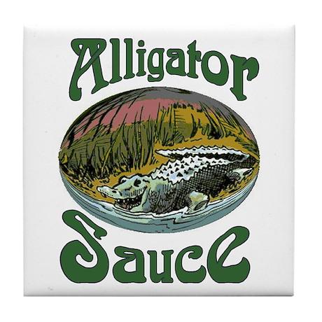 Alligator Brand Sauce Tile Coaster