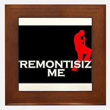 Tremontisize Me! (black) Framed Tile