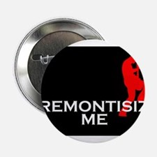 """Tremontisize Me! (black) 2.25"""" Button"""