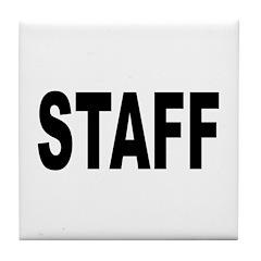 Staff Tile Coaster
