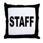 Staff Throw Pillow