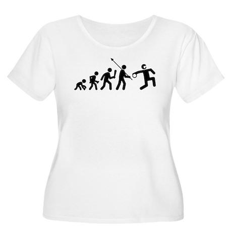 Goalball Women's Plus Size Scoop Neck T-Shirt