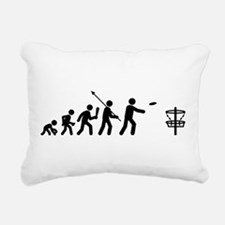 Disc Golf Rectangular Canvas Pillow