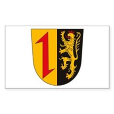 Mannheim Coat of Arms Rectangle Decal