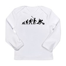 Curling Long Sleeve Infant T-Shirt