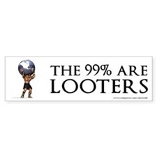 Atlas 99% Looters, Car Sticker