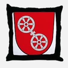 Mainz Coat of Arms Throw Pillow