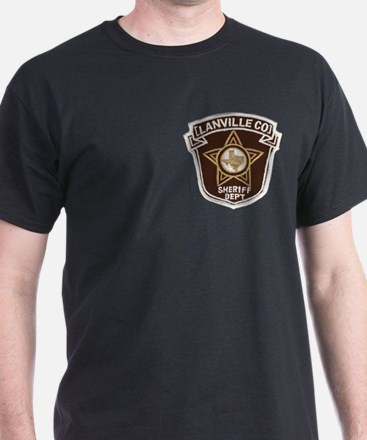 Lanville County Sheriff Black T-Shirt